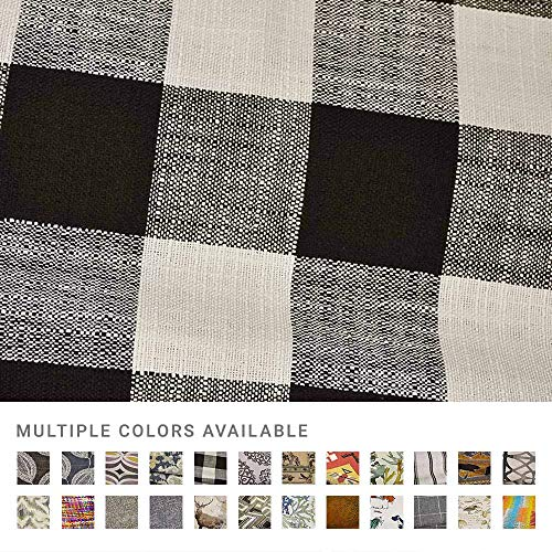 eLuxurySupply Fabric by The Yard - 100% Polyester Upholstery Sewing Fabrics - Blake Raven Pattern