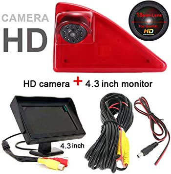 """Backup Reverse Camera Kit for Rear View Fits Nissan with 4.3/"""" Radio Display"""