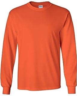 378a19e3a84f Amazon.com: Gildan Mens Plain Crew Neck Ultra Cotton Long Sleeve T ...