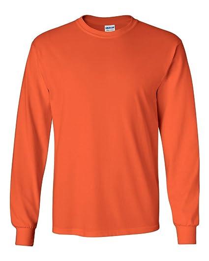 58ca7c0130a4 Gildan Men's G240 Ultra Cotton Long Sleeve T-Shirt   Amazon.com