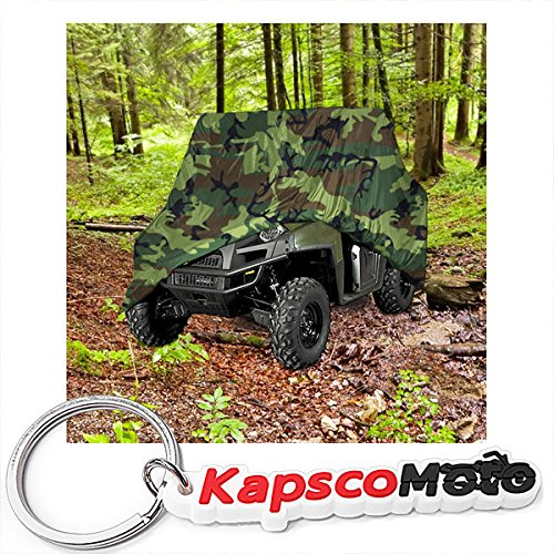 Ger Gator (Heavy Duty Waterproof Superior UTV Side By Side Cover Covers Fits Up To 120