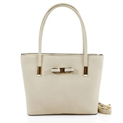 LeahWard® Women s Large Cute Bow Handbags College School Bags For Women Work  Holiday Bag ( 24165af4f36d8