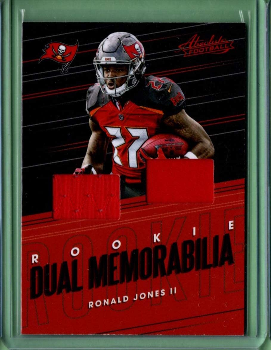 2018 Absolute Rookie Dual Memorabilia 9 Ronald Jones Ii Rookie Year At Amazon S Sports Collectibles Store