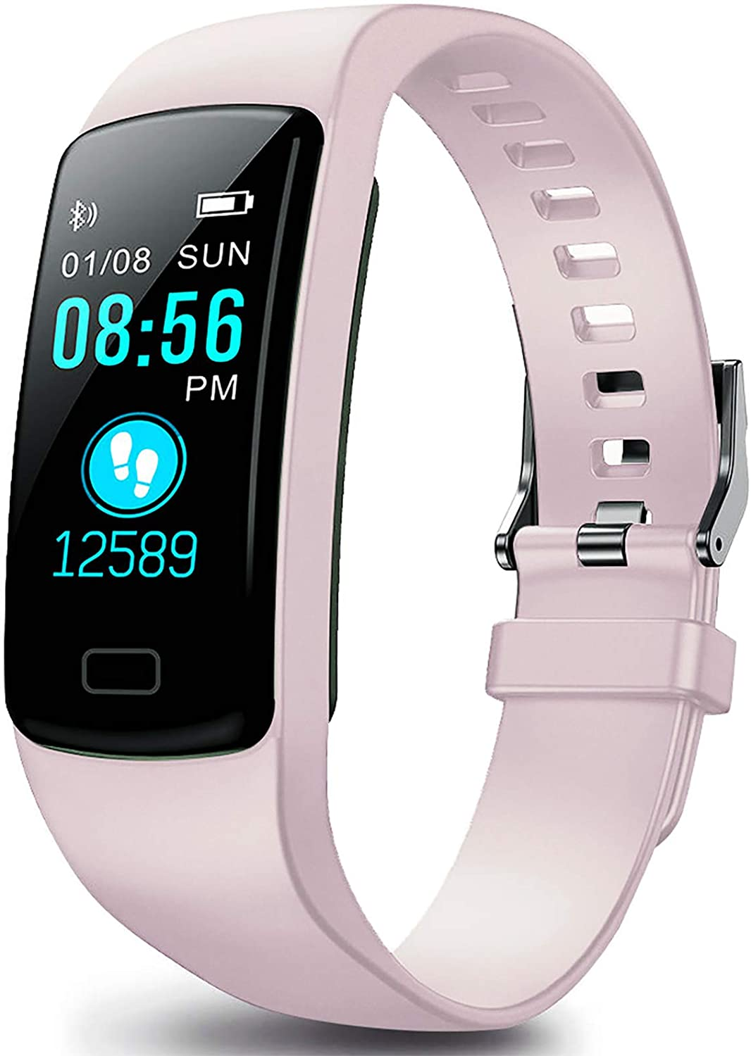 LEKOO Fitness Tracker, Activity Tracker Health Exercise Fitness Watch Waterproof with Heart Rate Monitor and Sleep Monitor, Calorie Counter, Step Counter Pedometer Walking for Kids Girls and Boys