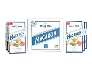 Angel Bake French Macaron Baking Mix 6-Pack. Includes buttercream filling mix. Gluten and Dairy Free.