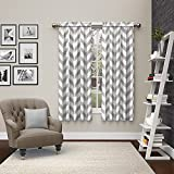 Pairs To Go 15613056X063GRY Dewitt 56-Inch by 63-Inch Window Curtain Pair, Gray Review