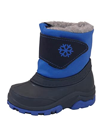 Top Quality Manbi Toddlers Boing Snow Boots  Bluem
