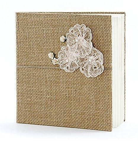 Gästebuch weiß Fotoalbum Fotobuch Hochzeitsalbum Hochzeitsgästebuch