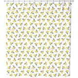 Uneekee Wind Dance Shower Curtain: Large Waterproof Luxurious Bathroom Design Woven Fabric