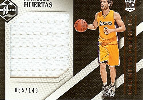 Basketball NBA 2015-16 Limited UnPotential Materials #19 Marcelo Huertas MEM /149 Lakers from Limited