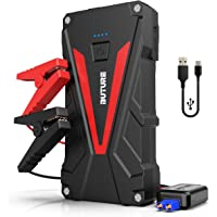 Car Jump Starter, BUTURE 800A Peak 12800mAh Portable Car Battery Starter (up to 6.0L Gas/5.0L Diesel Engines) Auto Battery Booster Pack with Smart Safety Jumper Cable, QC3.0 USB Outputs