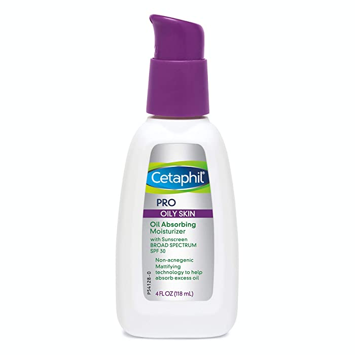 Cetaphil Cetaphil Pro Oil Absorbing Moisturizer With Spf 30 Broad Spectrum Sunscreen, 4 Ounce