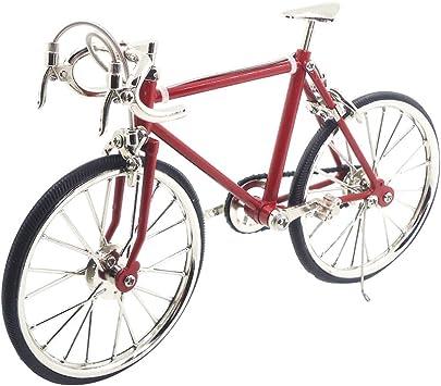 Gazechimp Escala 1/10 Bicicleta de Aleación en Miniatura ...