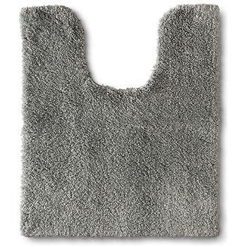 Amazon Com Fieldcrest New Bath Rugs Skyline Gray 20 24