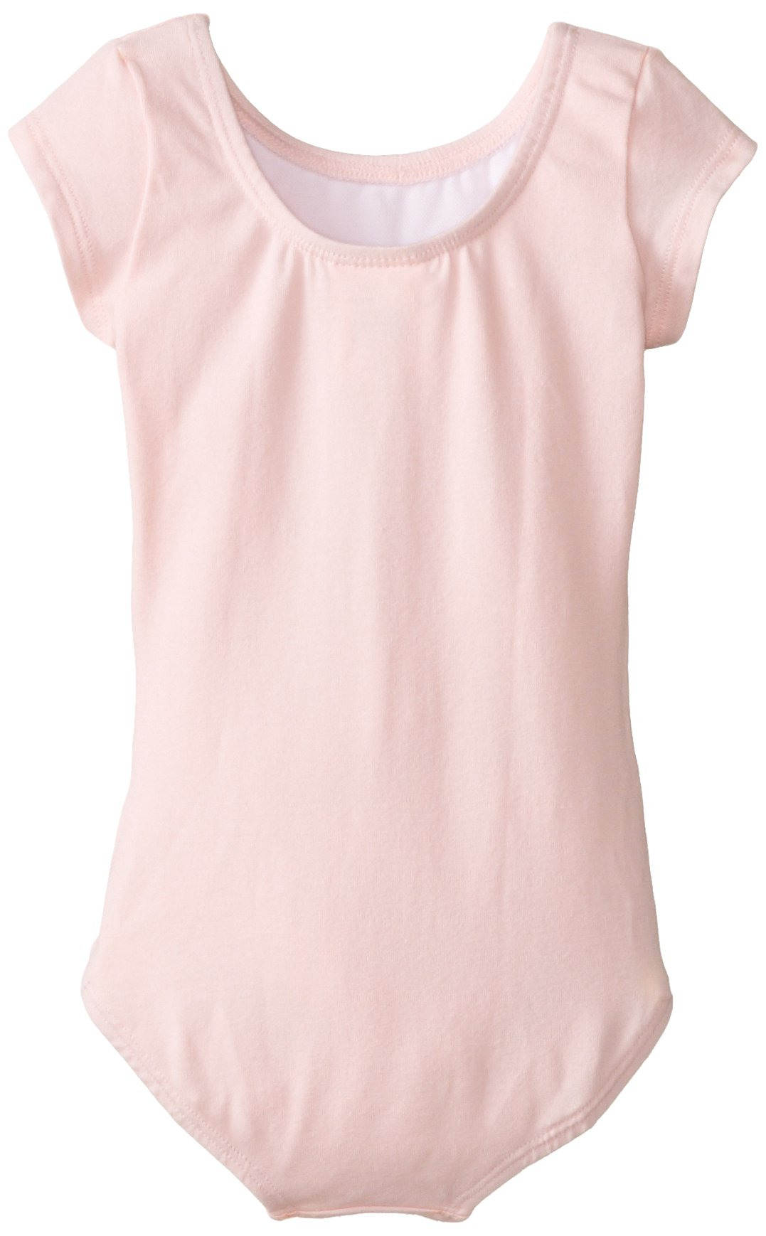 Clementine Girl's 2-6X Short Sleave Leotard, Light Pink, 3-4 by Clementine Apparel (Image #2)