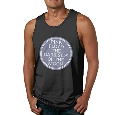 283ce484c788d9 Image Unavailable. Image not available for. Color  Pink Floyd Dark Side of  The Moon Sleeveless Tank Tops Shirts Fit Men