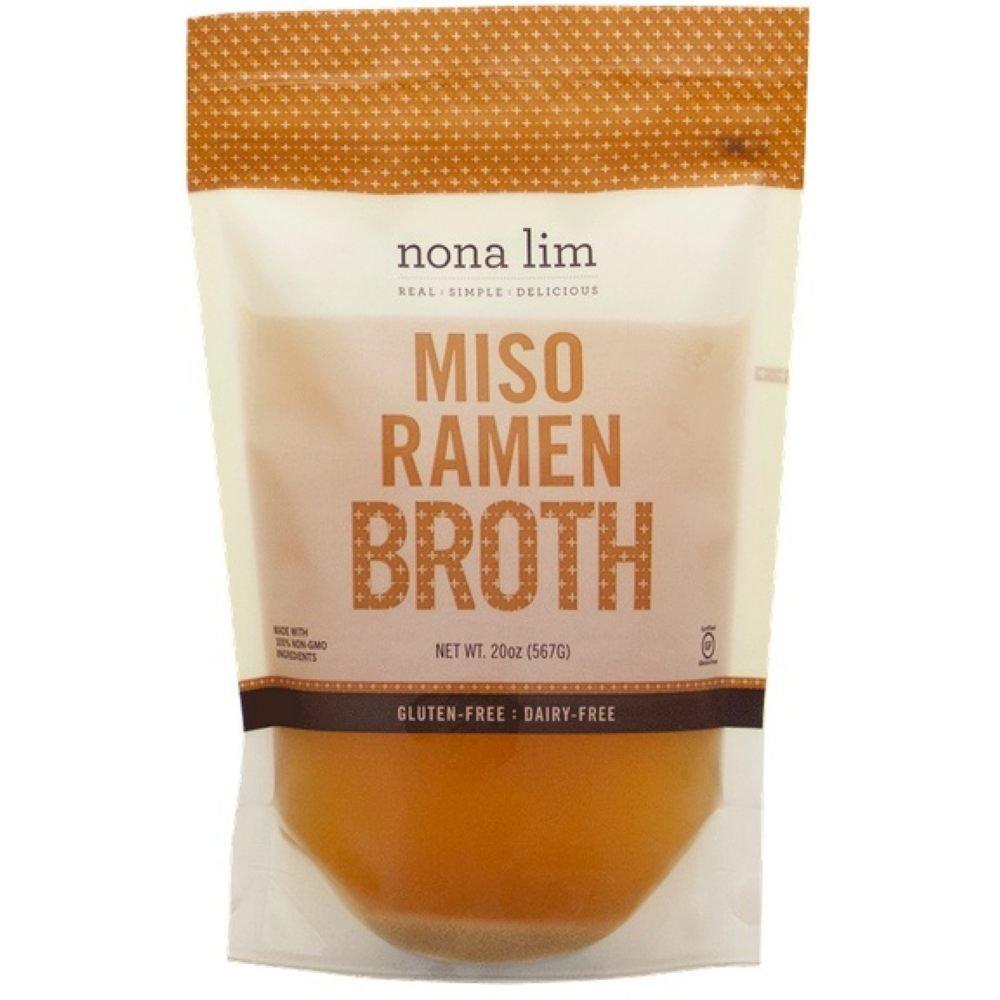 Nona Lim Miso Ramen Broth, 20 Ounce -- 6 per case by Nona Lim