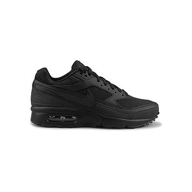 brand new 08e7e 39a8c Nike WMNS air Max BW Se, Chaussures de Running Fille, Noir-Blanc,