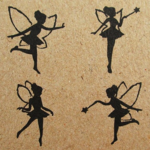 Np Crafts 4 Kids Rubber Stamps Scrapbook Supply Stamper Fairy Tail Dolls High Quality
