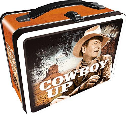 (Aquarius John Wayne Cowboy Up Tin Fun Box)