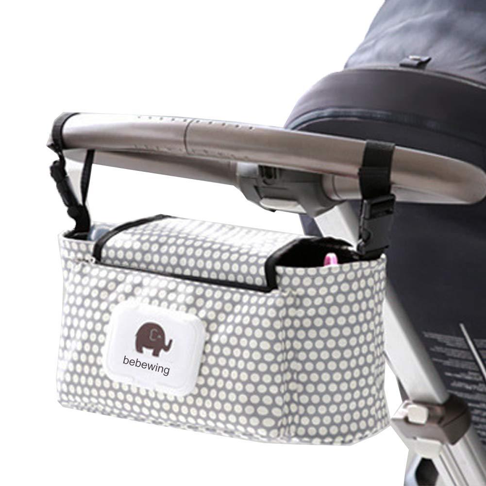 Grey Bear Z-Chen Buggy Pram Organiser Bag