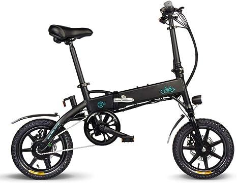XYDDC Bicicleta eléctrica Plegable Portable del vehículo eléctrico ...