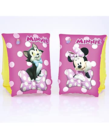 Bestway 91038 - Manguitos de natación de Minnie Mouse para bebés (Vinilo, 250 x