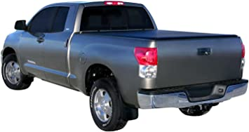 Amazon Com Access Bed Covers Tonnosport 22050219 Roll Up Tonneau Cover Compatible With Toyota Tundra 6ft 6in Bed W O Deck Rail Automotive