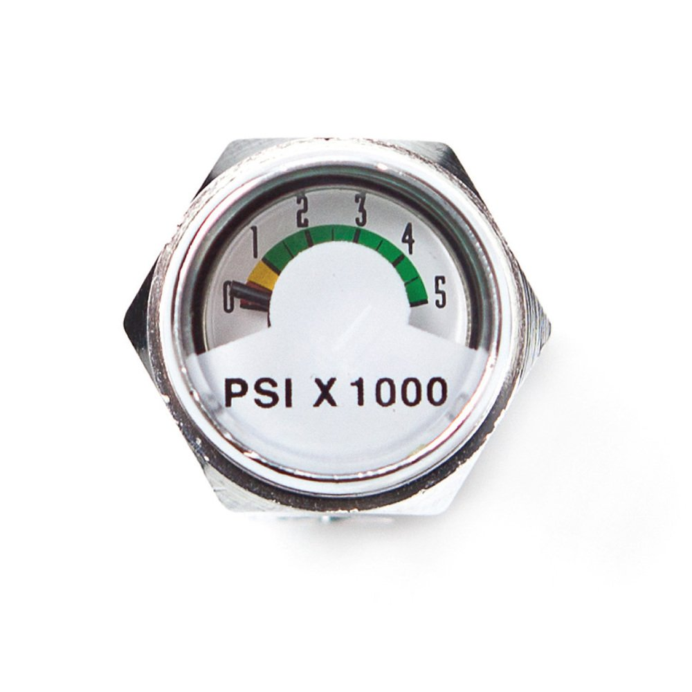 XS Scuba Pony Bottle Air Pressure Gauge, Pony Bottle Gauge (GA050)
