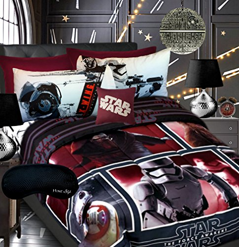 Star Wars Episode VII Boys Teen Comforter, Twin Sheet