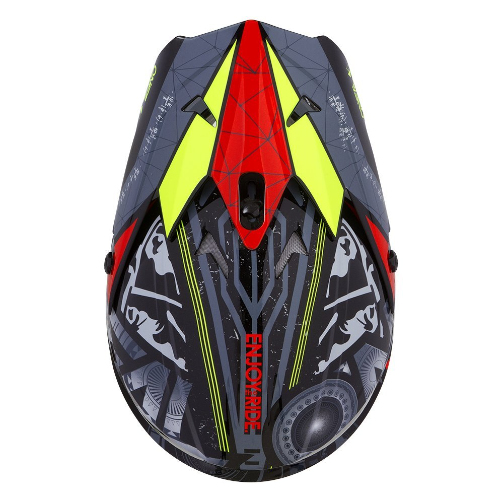 , ONeal Unisex-Adults Off Road 3SERIES Helmet Red, X-Small Helium