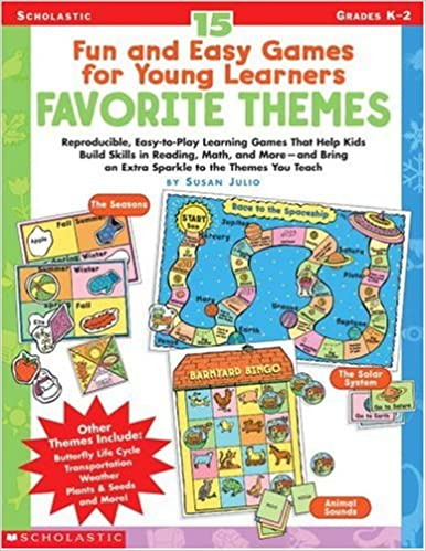 15 Fun and Easy Games for Young Learners-Favorite Themes ...