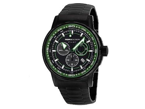 oficial mejor calificado muy elogiado Venta de liquidación 2019 Momo Design MD2164BK-30 Reloj de Pulsera para Hombre: Amazon ...