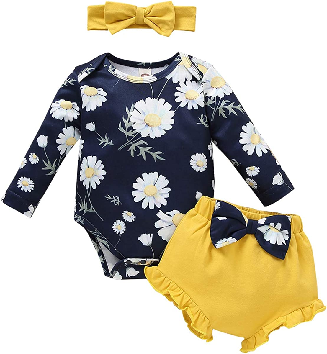 Baby Girls Boys Tie Dye Outfit Romper Top Pants Pajamas Set Ribbed Newborn Ruffle Long Sleeve Sleepwear Lounge Clothes