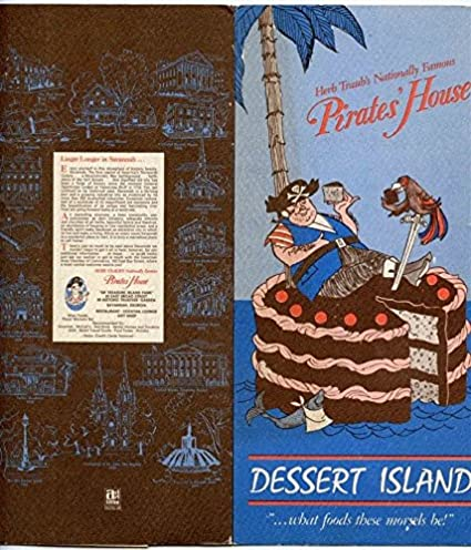 Amazon Com Herb Traub S Pirates House Dessert Island Menu