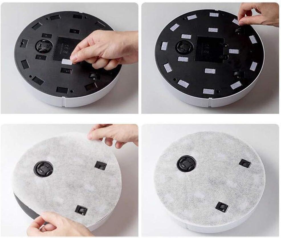 Collecteur de poussière intelligente machine de nettoyage domestique ratissage robot ggsm (Color : Black) Black