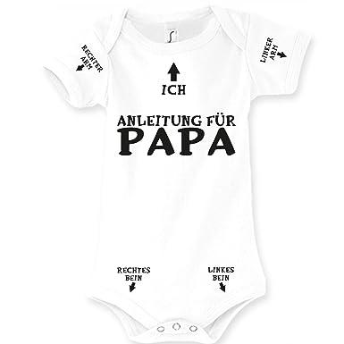 wo zu kaufen große Auswahl Sonderrabatt Spruchreif24de Baby Body Strampler Anleitung für Papa Geburt Geschenk