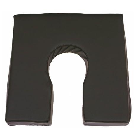 Cojín antiescaras | Fabricado con viscoelástica rosa | Producto Premium | Con forma de herradura |
