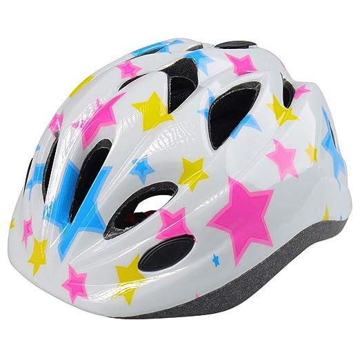 WLJBY Casco de Bicicleta para niños con luz de Seguridad, Casco de ...