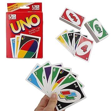 REALACC UNO Cartas Game Playing Cartas Game 108 Sheets ...