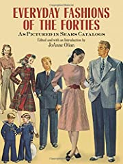 Few publications illustrate so comprehensively what American men, women, and children wore in the 1940s than the Sears catalogs of those years, when the company's fashions typified the tastes of the American mainstr...
