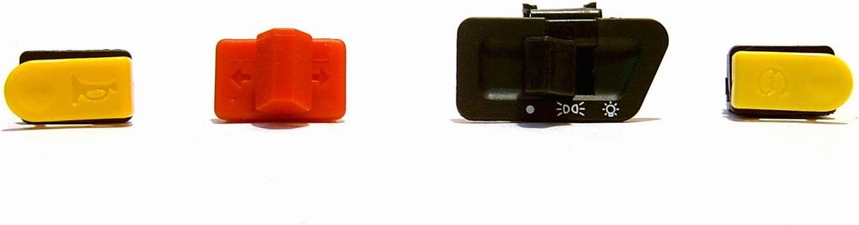 Lenker Schalter Set 4 Teilig Lichtschalter Hupe E Start Blinker Schalter Z B Für Benzhou Yiying Yy50qt Rex Rs Agm Gmx Jinan Qingqi Speedy Qm50qt Yiying Longjia Kymco Leike Jmstar Mks