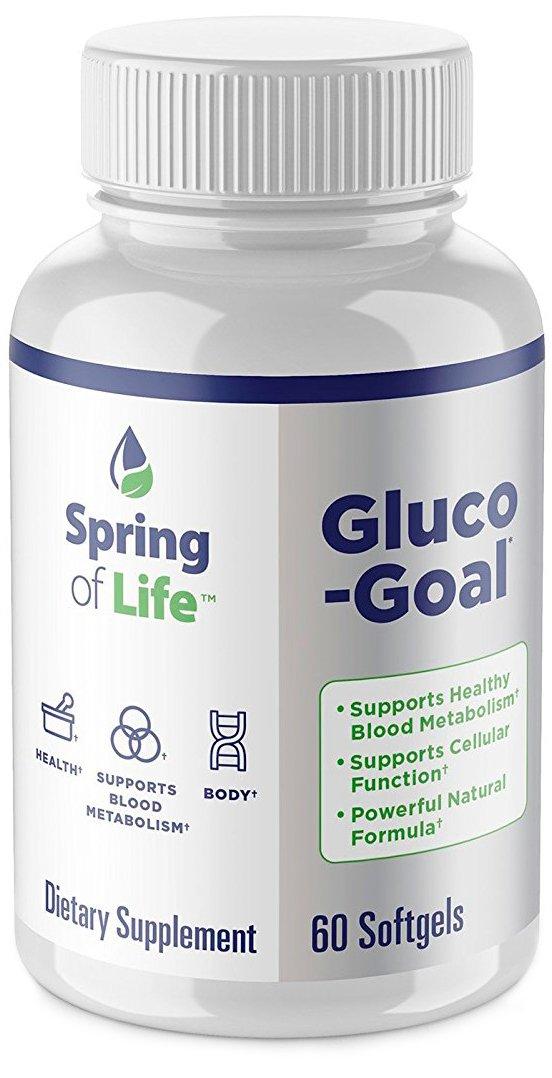 Amazon.com: Primavera de vida gluco-goal – Los niveles de ...