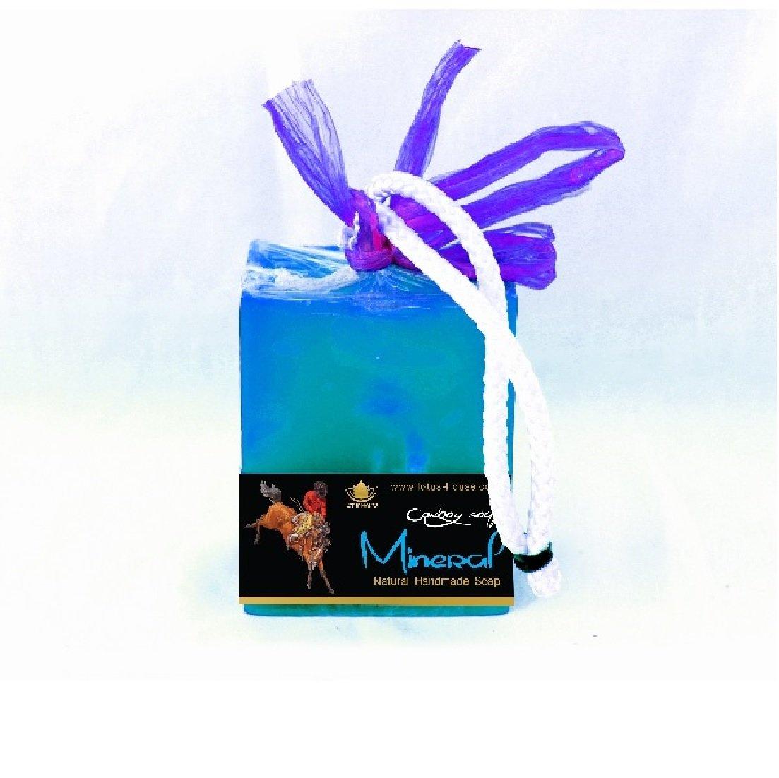 Lotus House Mineral Cowboy Soap - 300gr Bar LH1296
