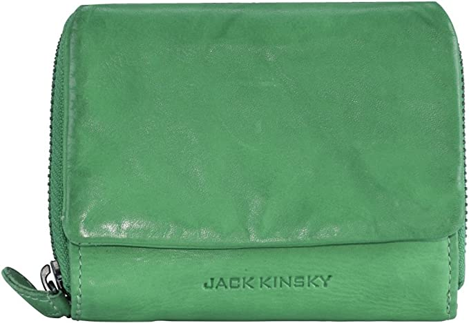 Jack Kinsky Portofino 512 Geldbörse Leder 14 cm apfel