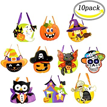 10×Bolsas DIY Halloween Trick or Treat - Bolsas ...