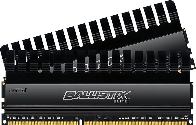 26 opinioni per Ballistix Elite 8 GB Kit (4 GB x 2) DDR3 2133 MT/s (PC3-17000) UDIMM w/XMP/TS
