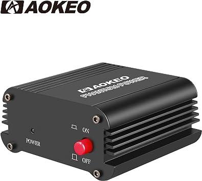 Universelle 48V Phantomspeisebox für Kondensatormikrofone