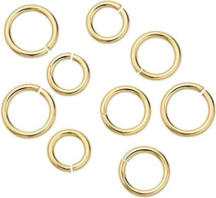 100//500PCS Alloy Silver//Bronze Jump Rings For Bracelet Necklace Jewelry 4mm