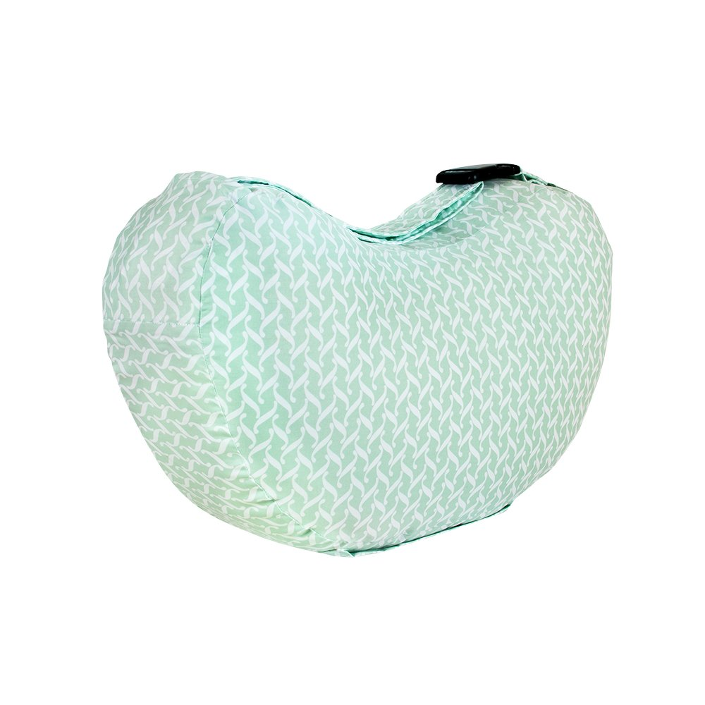 Bebe au Lait Premium Cotton Nursing Pillow, Agave